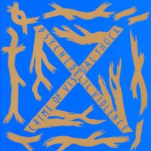 X JAPANのBLUE BLOODジャケット