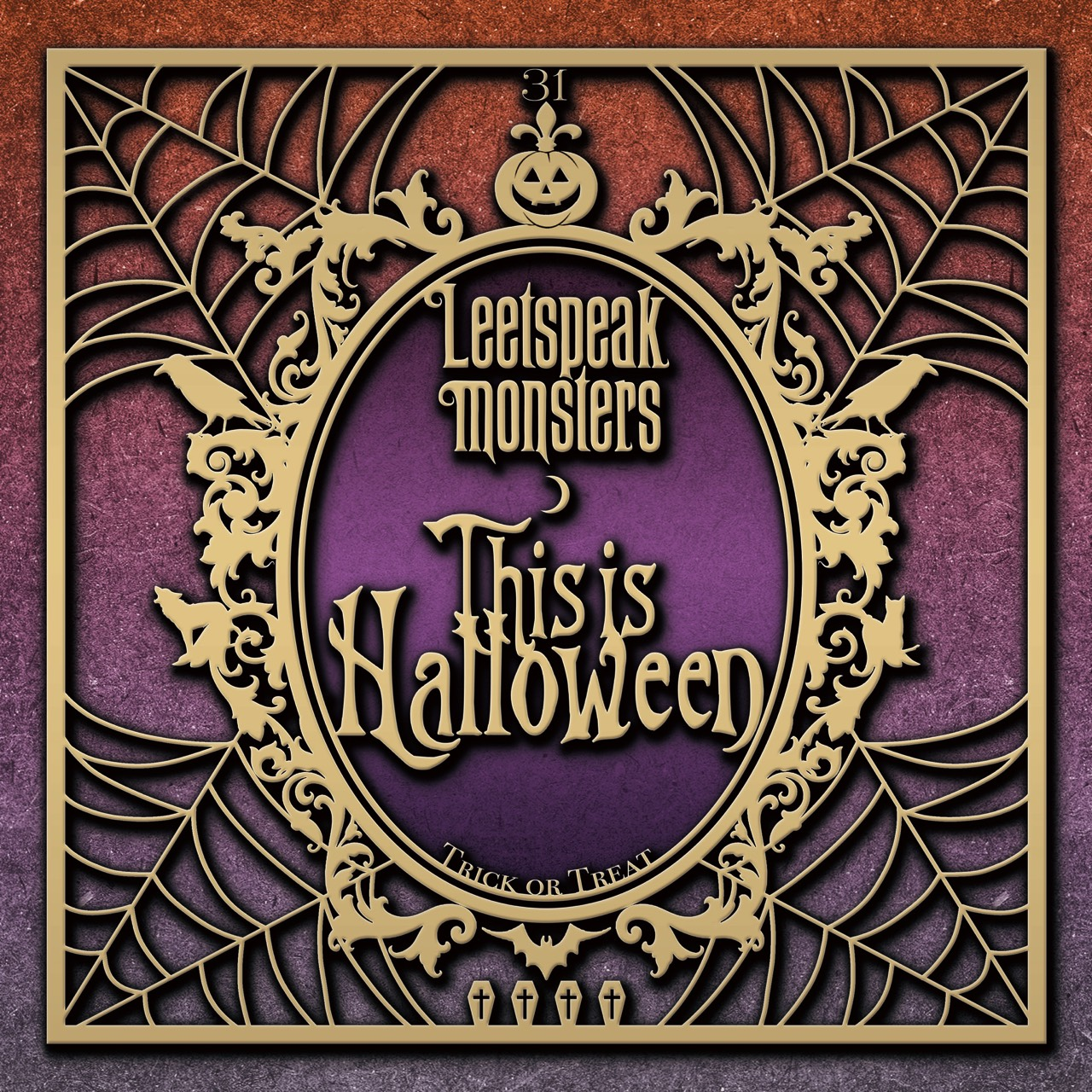 Leetspeak monstersのThis is Halloweenジャケット