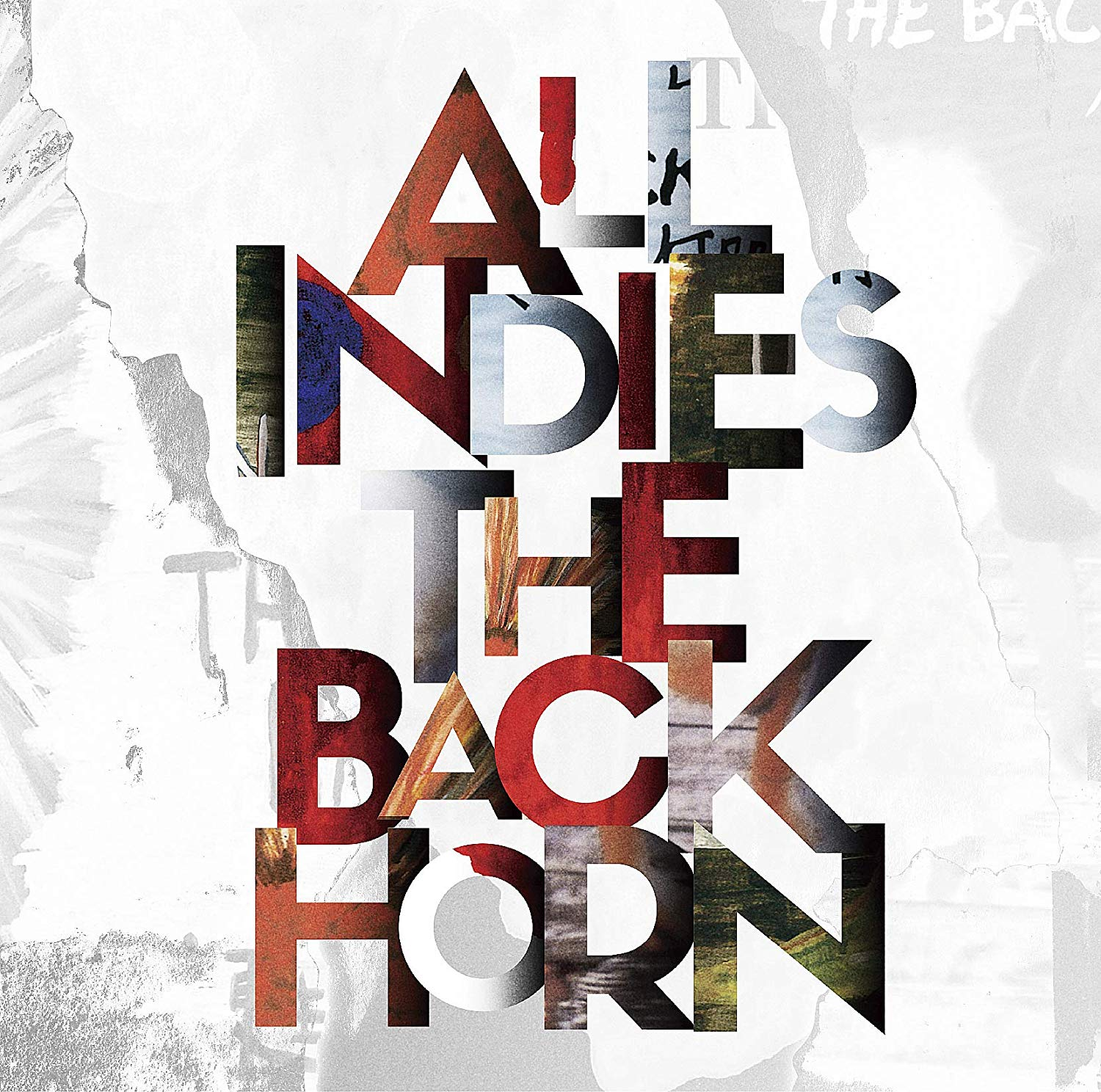 THE BACK HORNのALL INDIES THE BACK HORNジャケット